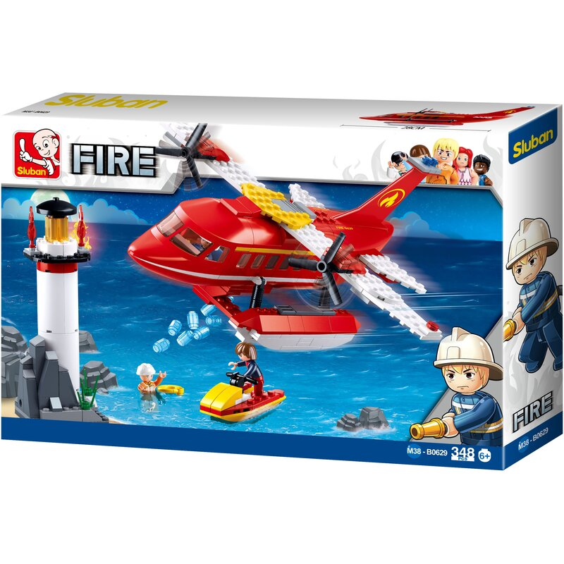 Fire-fighting Aircraft - B0629 - Sluban