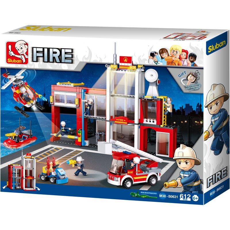 Fire Station - B0631 - Sluban