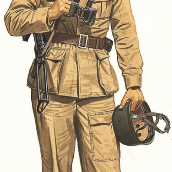 Byggmodell - SS Hauptsturmfuhrer Otto Skorzeny Gran Sasso Raid - 1:16 - Dragon