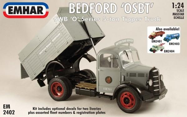 Byggmodell lastbil - Bedford Swb Tipper - 1:24 - Emhar