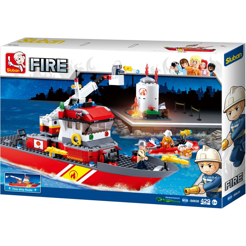Fire-fighting Boat B0630 Sluban