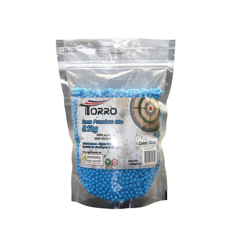 Torro BB Softair Ammunition - 5000 blåa kulor