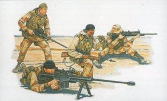 Byggmodell gubbar - U.S. Sniper Team 1:35 Dragon