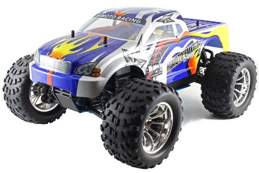 Metanol bil - 1:10 - Viper XST Nitro - 4WD - 2,4Ghz - RTR