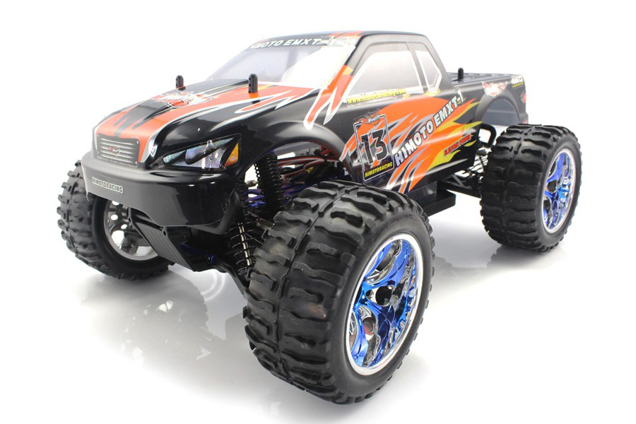 Radiostyrda bilar - 1:10 - EMXT-1 Orange - 4WD - 2,4Ghz - RTR