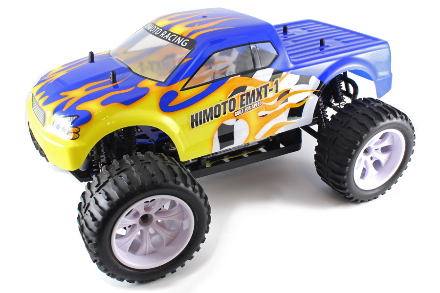 Radiostyrda bilar - 1:10 - EMXT-1 Blue - 4WD - 2,4Ghz - RTR