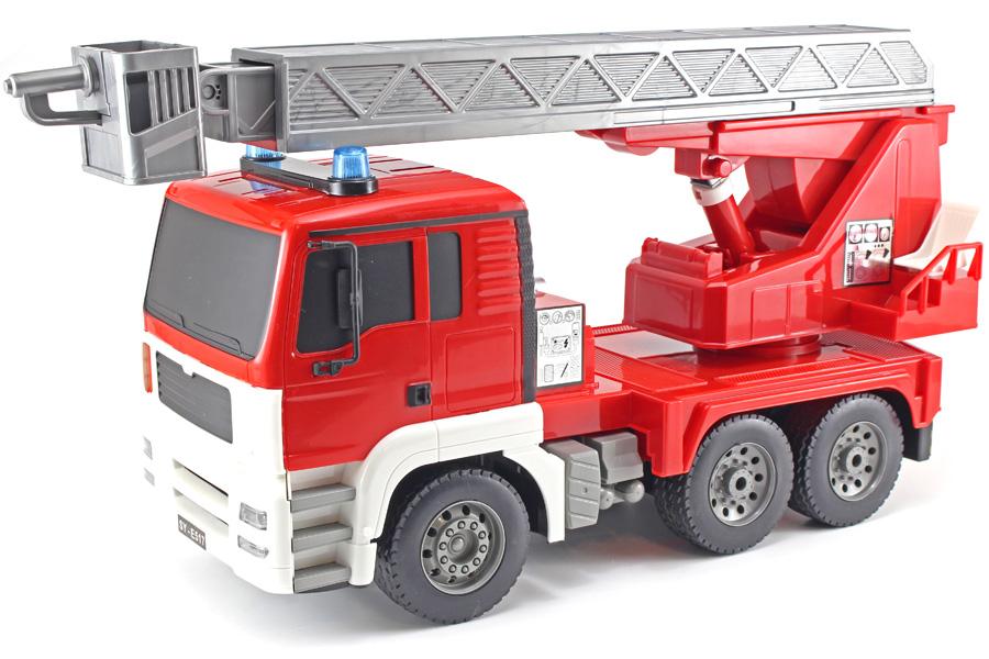 Radiostyrd brandbil - Stegbil - 1:20 - 2,4GHz - RTR