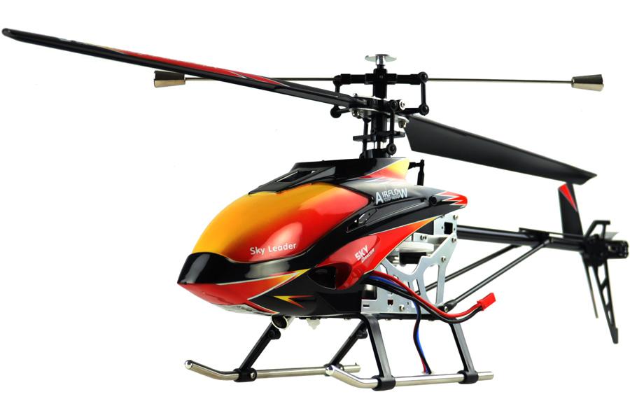 Radiostyrd helikopter - Buzzard Pro XL BL - 2,4Ghz Gyro - 4ch - RTF