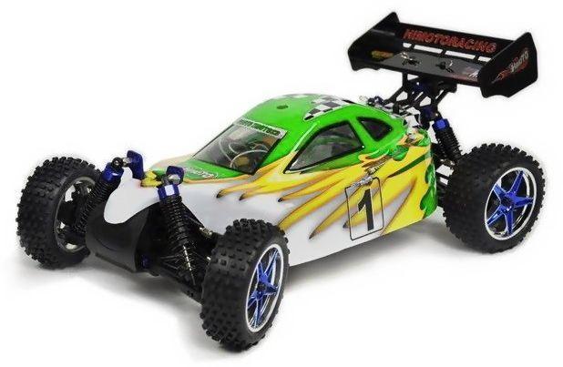 Metanol bil - 1:10 - Syclone PRO Nitro - 4WD - 2,4Ghz - RTR