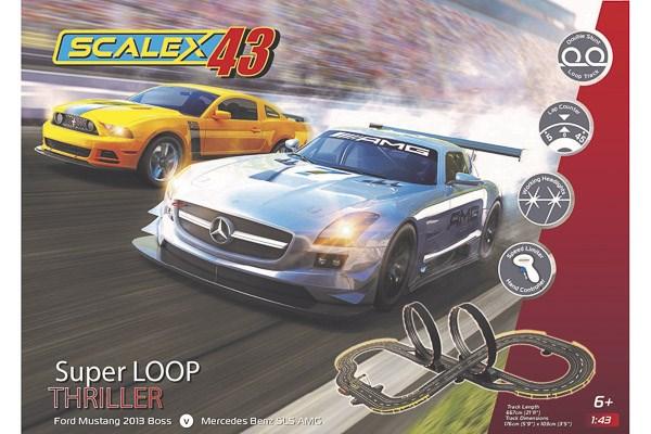 Scalextric bilbana - Scalex43 - Super Loop Thriller Set