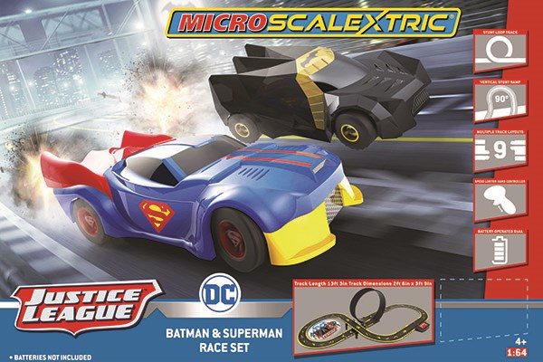 Scalextric bilbana - Micro Justice League