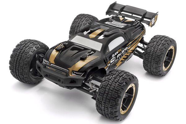 Radiostyrd bil - Slayer ST 4WD Gold - 1:16 - 2,4Ghz - RTR