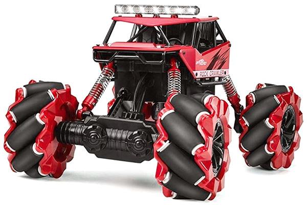 Radiostyrd bil - 1:16 - Drift Climber 4WD Red - 2,4Ghz - RTR