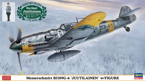 Byggmodell flygplan - Messerschmitt Bf109G-6 - 1:48 - Hasegawa