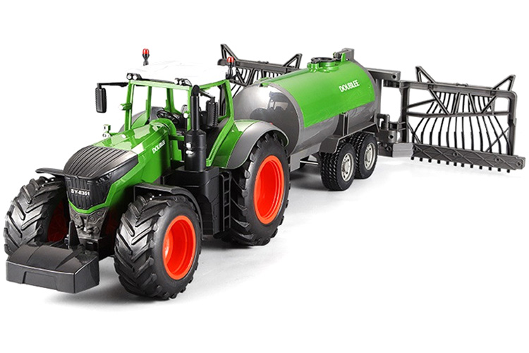 Radiostyrd traktor m Tank - 1:16 - 2,4Ghz RTR