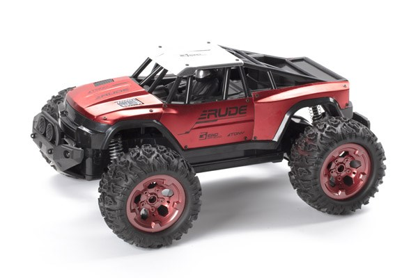 Radiostyrd bil - Rude Killer Red - 2,4Ghz - 1:12 - RTR