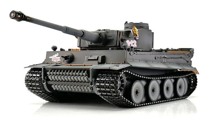 1:16 - Tiger 1 Early - Torro Pro IR Smoke - 2,4Ghz - RTR