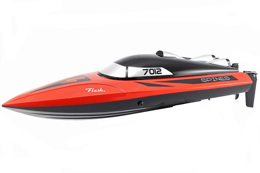 Radiostyrd båt - Rapid Red - 2,4Ghz - RTR - WL