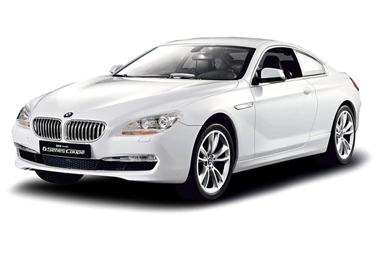 Radiostyrd bil - 1:14 - BMW - Vit - RTR