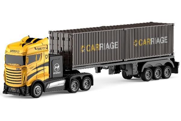 Lastbil Container - Gul - 1:16 - RTR