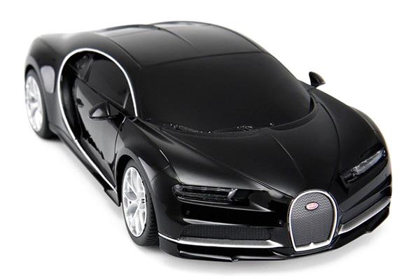 Radiostyrd bil - 1:24 - Bugatti Chiron - Svart - RTR