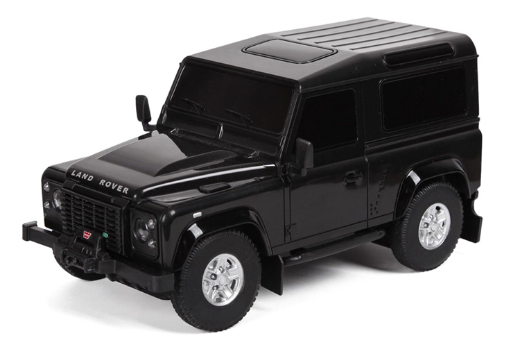 Radiostyrd bil - 1:24 - Land Rover - Svart - RTR