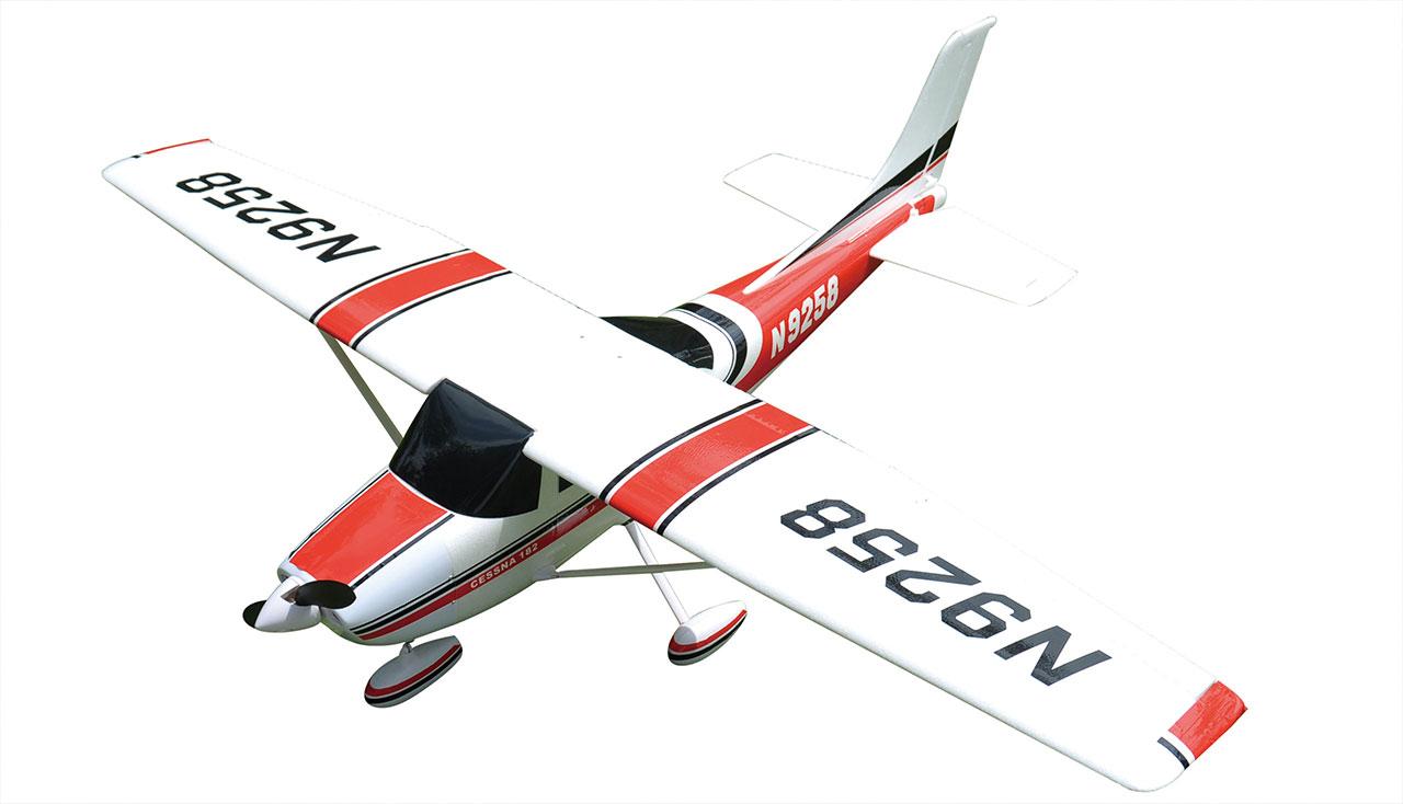 Flygplan - Air Trainer 1410 BL 2,4Ghz - EPO - 4ch - Röd - ARF