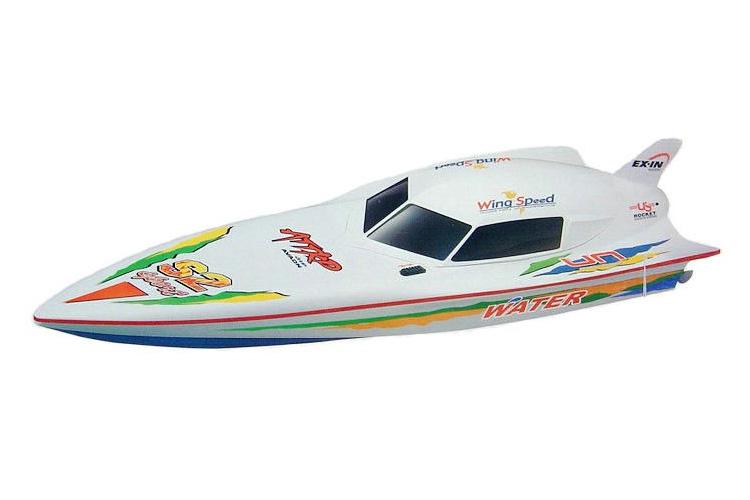 Demo - Radiostyrda båtar - Wing Speed - 2,4Ghz - RTR