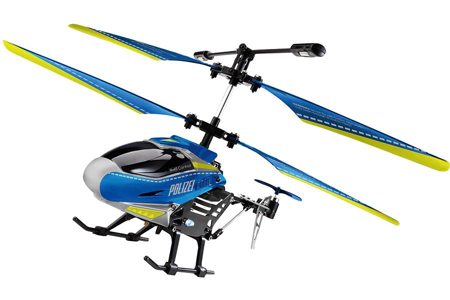 Radiostyrd helikopter - Polishelikopter - 3,5ch - RTF