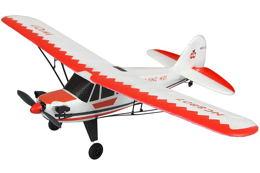 RC Flygplan - Piper J-3 Cub - 2,4Ghz - 3ch - RTF