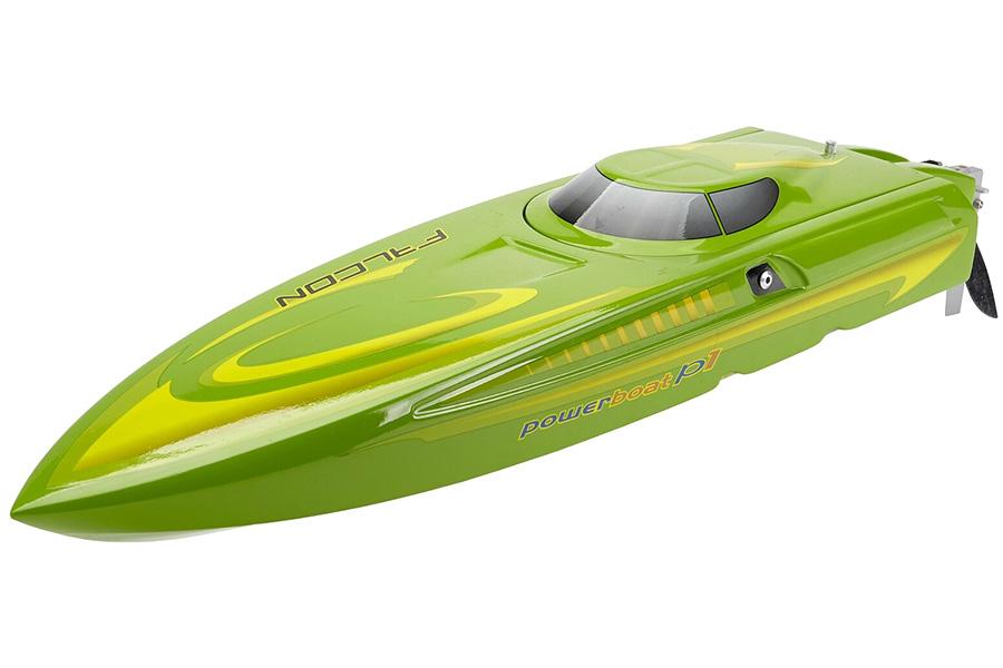Borstlös rc båt - NTN600 Lime - 2,4Ghz - ARTR