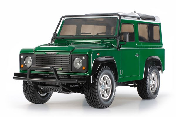 RC Assembly kit - 1:10 - Land Rover Defender 90 (CC-01) - Tamiya