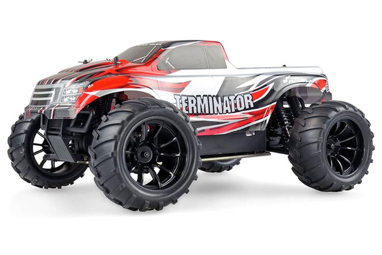 Radiostyrda bilar - 1:10 - Terminator 4WD - 2,4Ghz - Amw - RTR