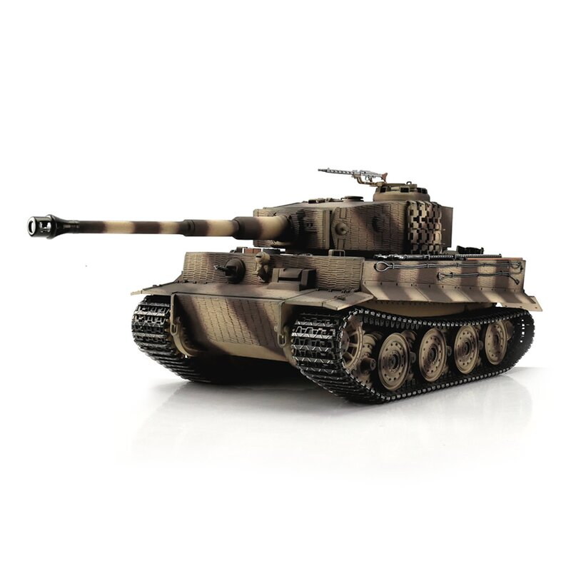 1:16 - Tiger I, Late Version Desert - Torro Pro IR Servo - 2,4Ghz - RTR