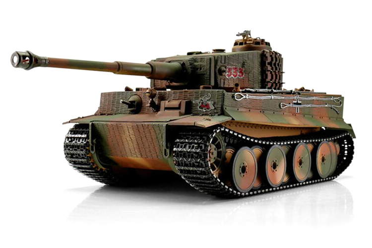 1:16 - Tiger I, Middle Version Desert - Torro Pro IR Smoke - 2,4Ghz - RTR