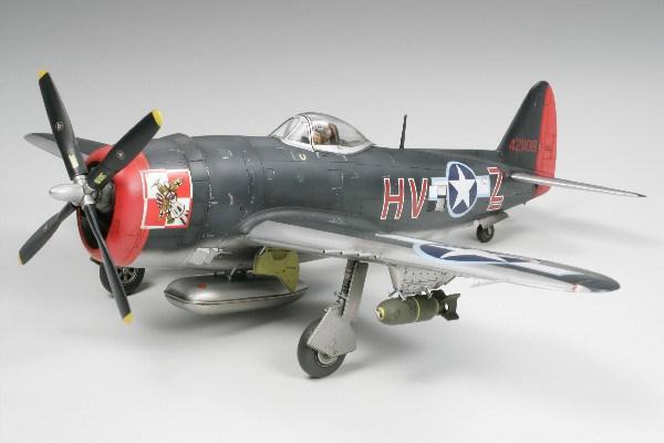 Byggmodell flygplan - P47M Thunderbolt - 1:48 - Tamiya