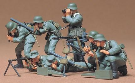 Byggmodell - Tysk maskingevärspost - 1:35 - Tamiya
