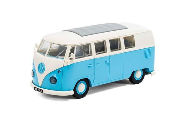 Quick Build VW Camper Van - Blue - Byggklossar - Airfix