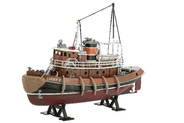 Byggmodell båt - Harbour Tug Boat - 1:108 - Revell
