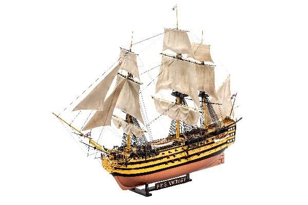 Byggmodell segelbåt - Gift-Set, HMS Victory, Battle of Trafalgar - 1:225 - Revell