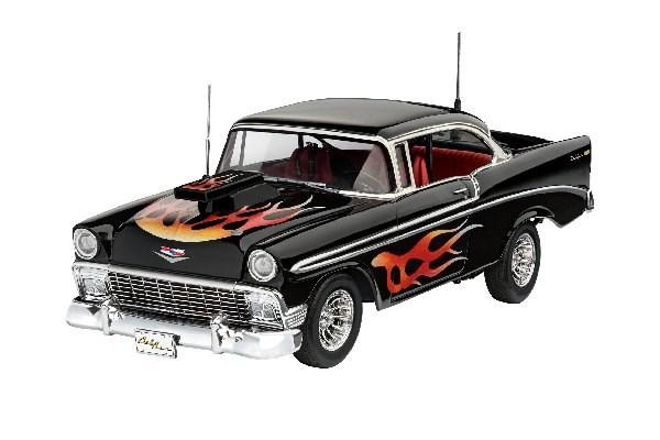 Byggmodell bil - 1956 Chevy Custom - 1:24 - Revell