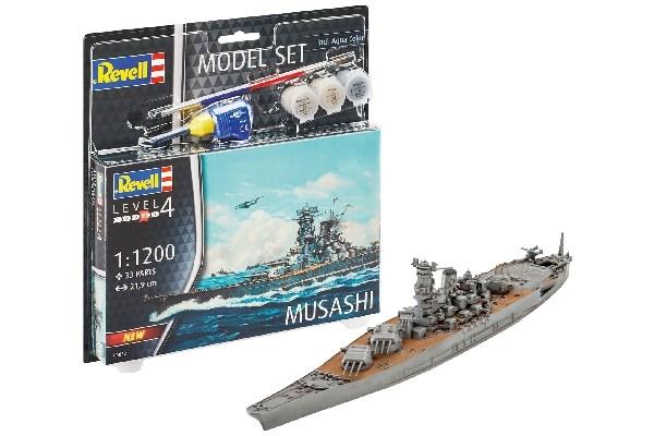 Model Set Musashi - 1:1200 - Revell