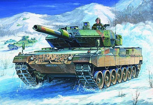 Byggmodell stridsvagn - LEOPARD 2 A5/A6 - 1:35 - HB