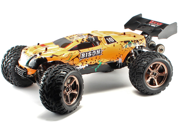 RC bil - VKAR BISON 4WD - 2,4Ghz - RTR