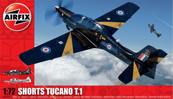 Byggmodell flygplan - Shorts Tucano T1 - 1:72 - Airfix