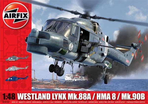 Byggmodell helikopter - Westland Lynx Mk.88A / HMA8 / Mk.90B - 1:48 - Airfix