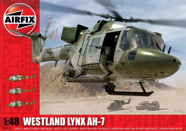 Byggmodell helikopter - Westland Lynx Army AH-7 - 1:48 - Airfix