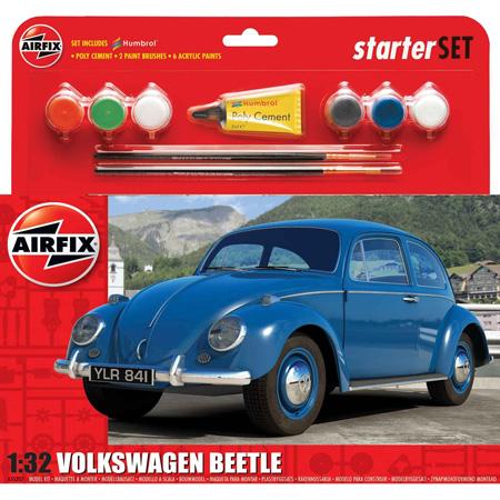 Byggmodell bil - VW Beetle - 1:32 - Airfix