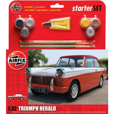 Byggmodell bil - Triumph Herald - 1:32 - Airfix