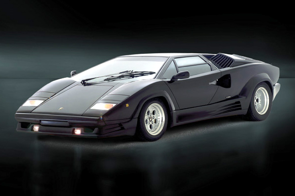Byggmodell bil - Lamborghini Countach 25Th Anniversary  - 1:24 - IT